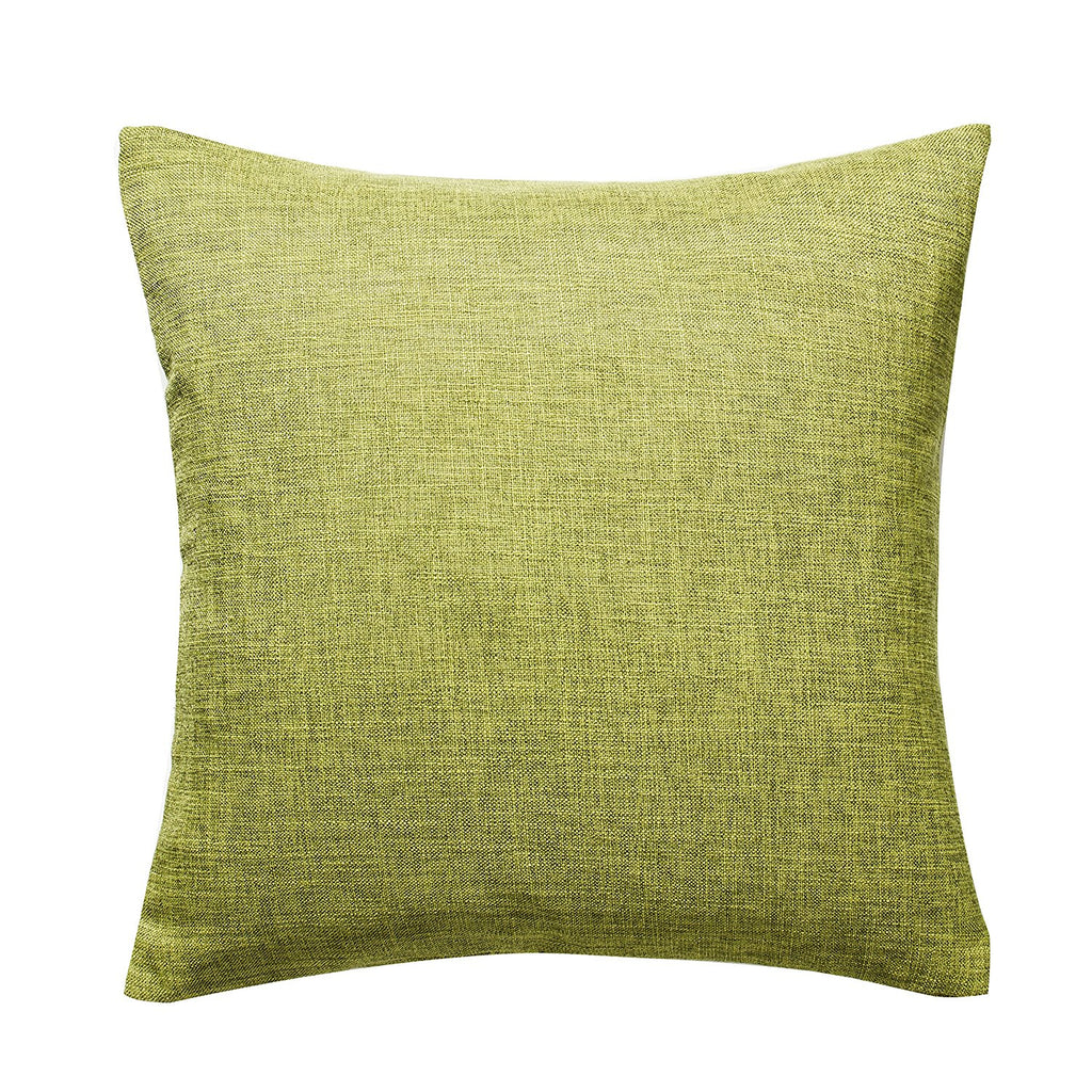 Decorative Pillow Covers, Cotton Linen