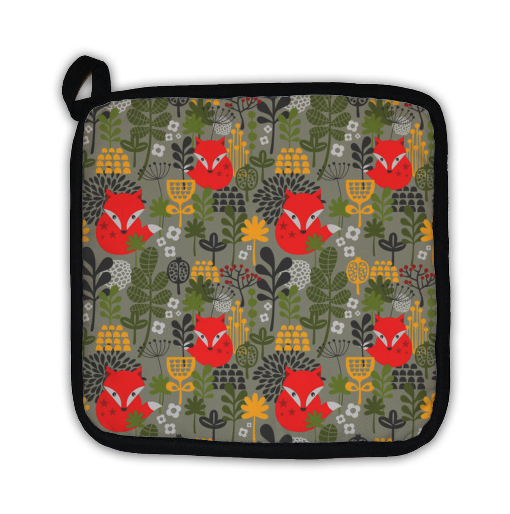Potholder, With Cute Little Fox