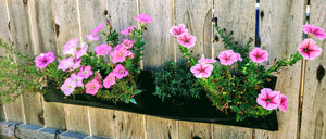 5 Pocket Indoor / Outdoor Waterproof Horizontal Planter-Eco-Friendly Made From 100% Recycled Plastic--ON SALE NOW!