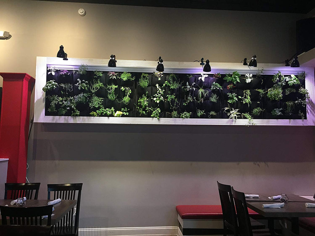 12 Pocket Indoor Waterproof Vertical Living Wall Planter