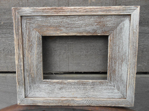 Hand Made 4x6 Barn Wood Rustic Distressed Frames