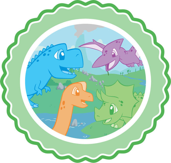 Tykables Little Rawrs Adult Diapers Icon