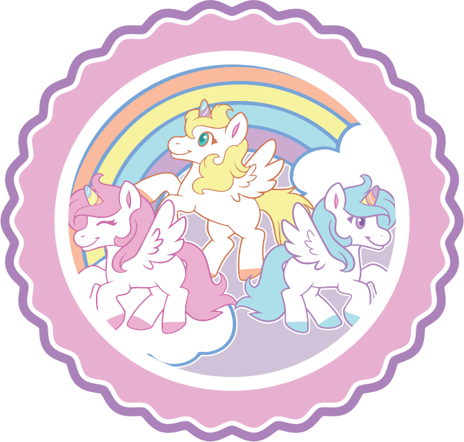 Tykables Unicorns Adult Diapers Icon
