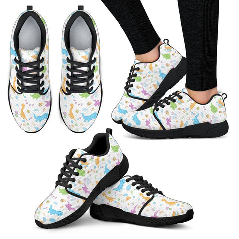 Little Rawrs Patterned Sneakers Shoes - Tykables