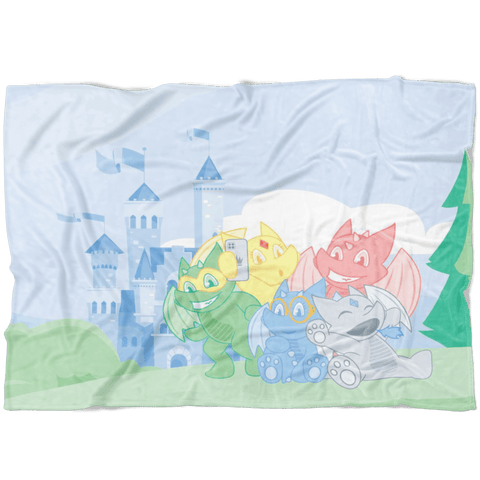Camelot Fleece Baby Blanket - Tykables