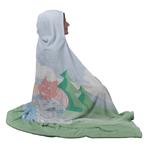 Camelot Hooded Blanket - Tykables