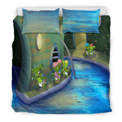 Potty Monsters Bedding  - Tykables