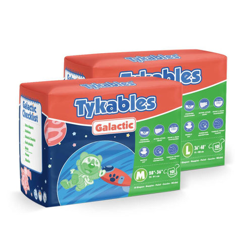 Galactic Diapers Adult Diapers - Tykables