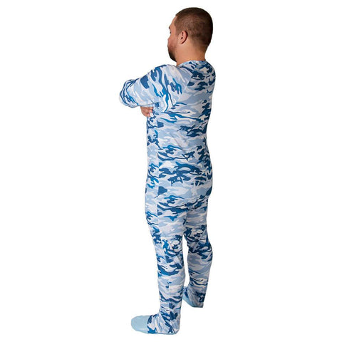 Cammies Sleeper Footed PJs - Tykables