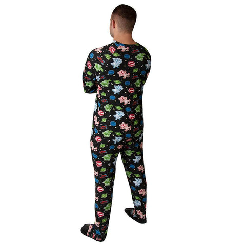 Galactic Sleeper Footed PJs Snappies - Tykables