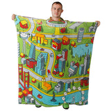 Metro Fleece Baby Blanket Blankets - Tykables