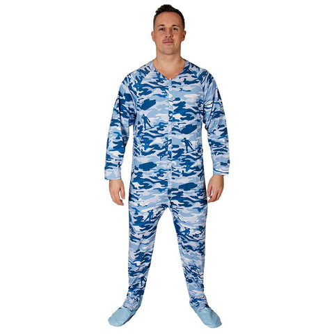Cammies Sleeper Footed PJs Snappies - Tykables
