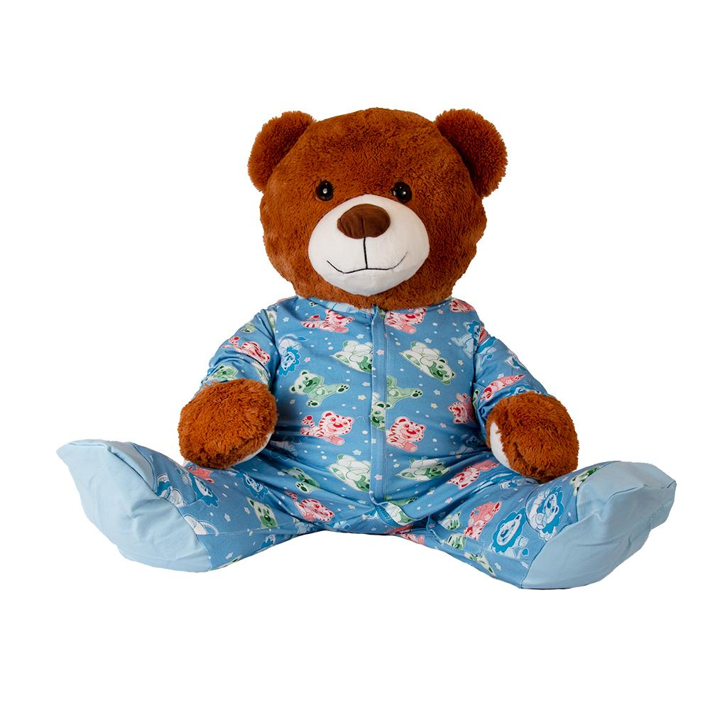 Plushie Overnights Sleeper Footed PJs Fuzzies - Tykables
