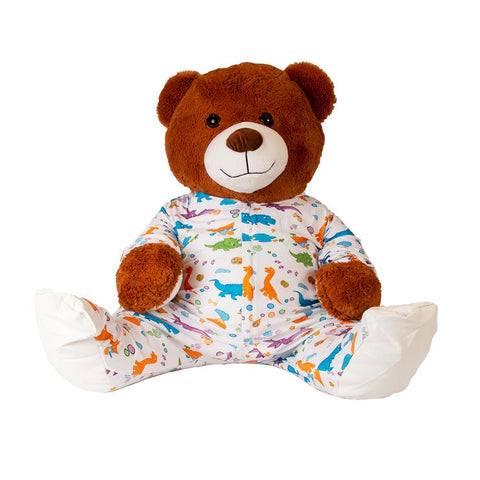 Plushie Little Rawrs Sleeper Footed PJs - Tykables