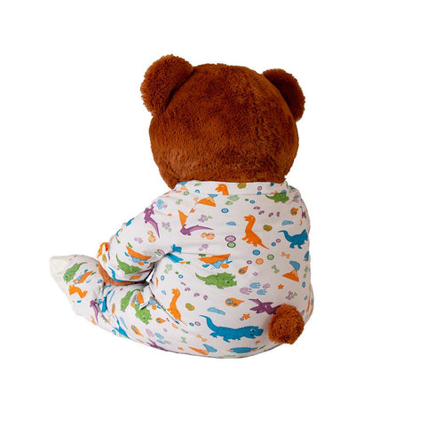 Plushie Little Rawrs Sleeper Footed PJs Fuzzies - Tykables