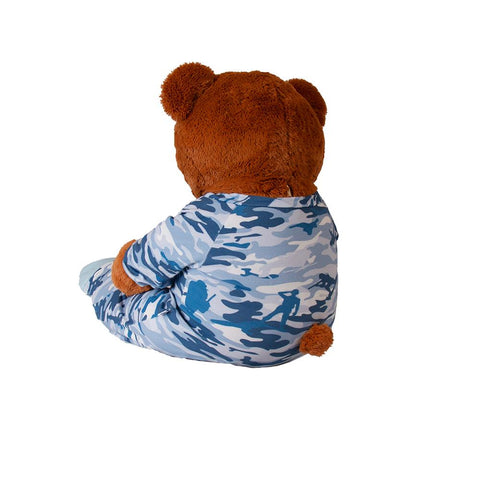 Plushie Cammies Sleeper Footed PJs Fuzzies - Tykables