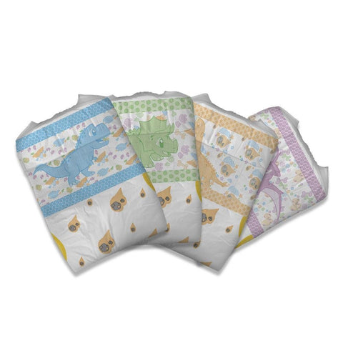 Little Rawrs Diapers Adult Diapers - Tykables