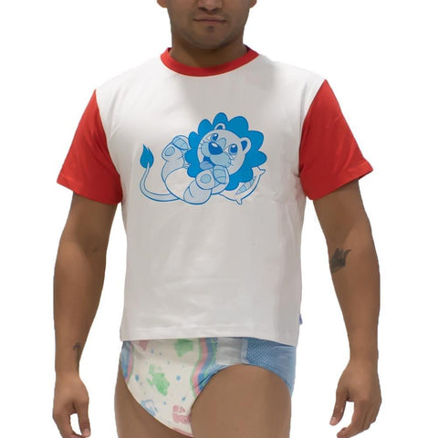 Overnights Larry Diaper Snappies Play Shirt Snappies - Tykables