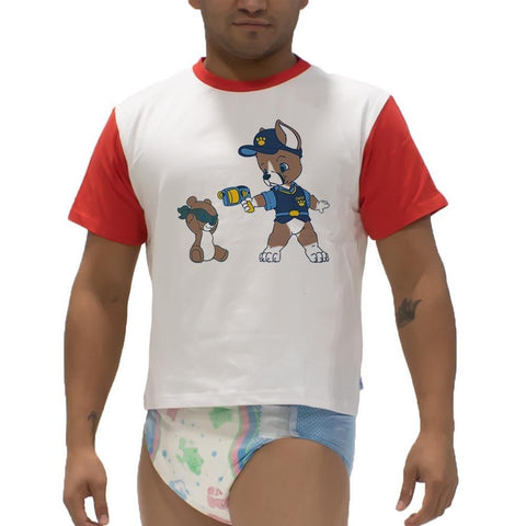 Puppers Sarge Play Shirt Snappies - Tykables