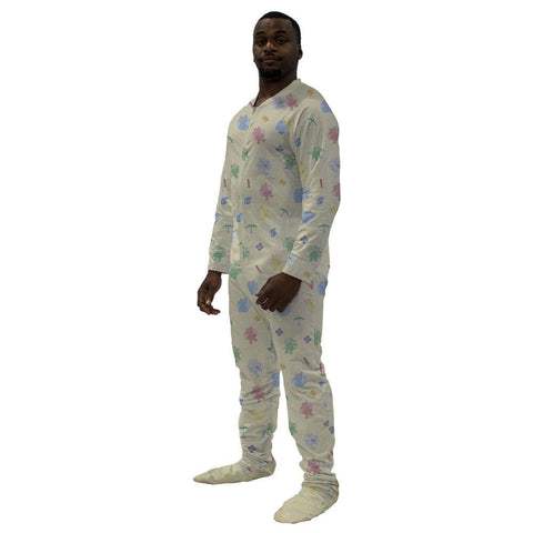 Camelot Sleeper Footed PJs Snappies - Tykables