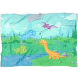 Little Rawr Fleece Baby Blanket Blankets - Tykables