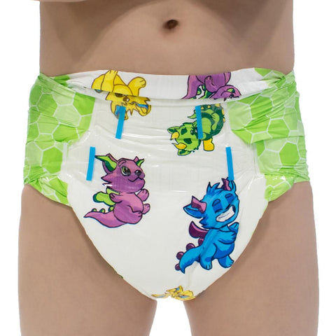 Little Rascals Diapers Adult Diapers - Tykables