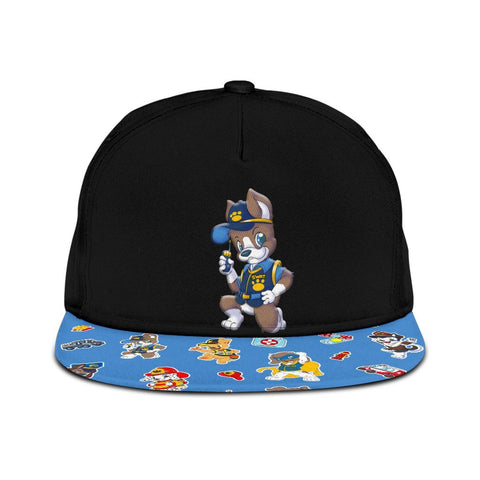 Puppers Sarge Snapback Hats - Tykables