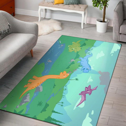 Little Rawrs Large Playmat Playmat - Tykables