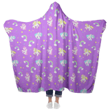 Unicorns Hooded Blanket Hooded Blanket - Tykables