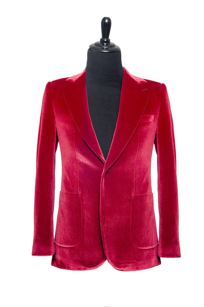 Red Velvet Custom Blazer