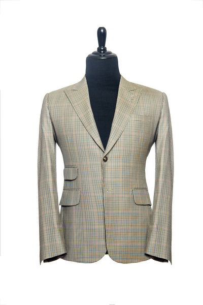 Light Green with Red Checks Custom Blazer