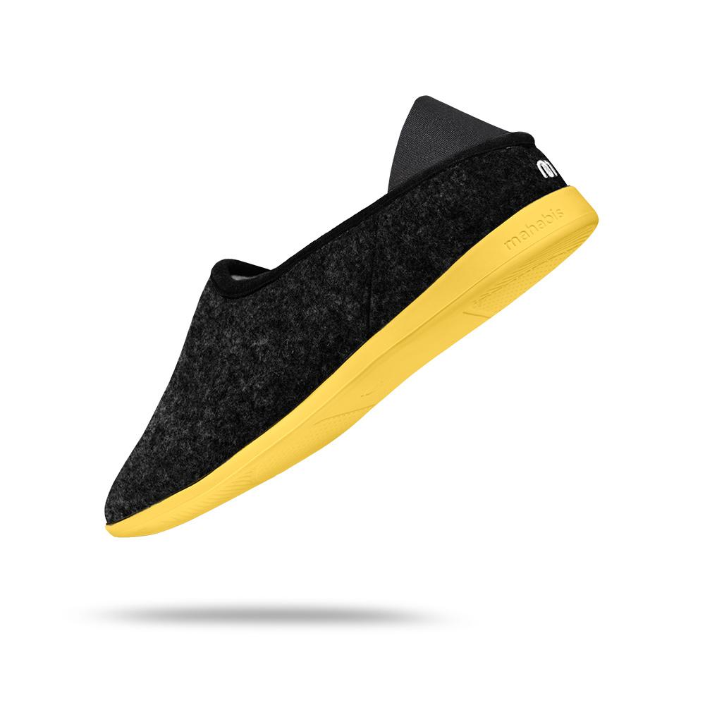 mahabis classic in skien black x yellow