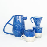 Speckled Pitcher - Blue