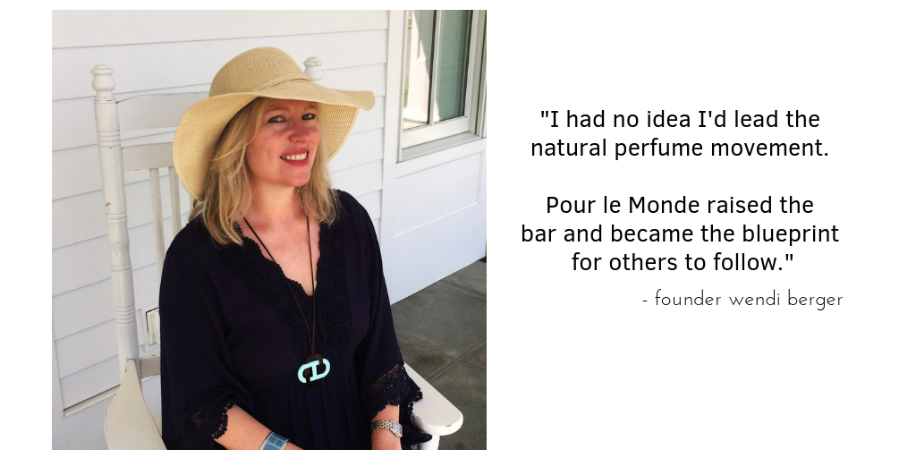 The founder of Pour le Monde, Wendi Berger