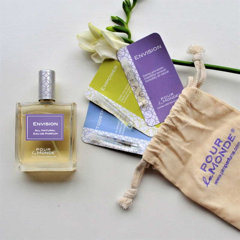 The PLM Natural Perfume Sample Bouquet