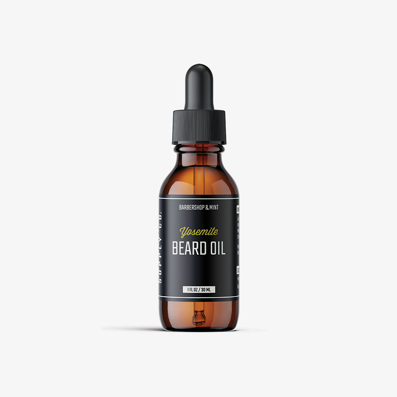Yosemite beard oil