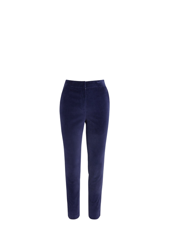 Carla Tapered Velvet Pant