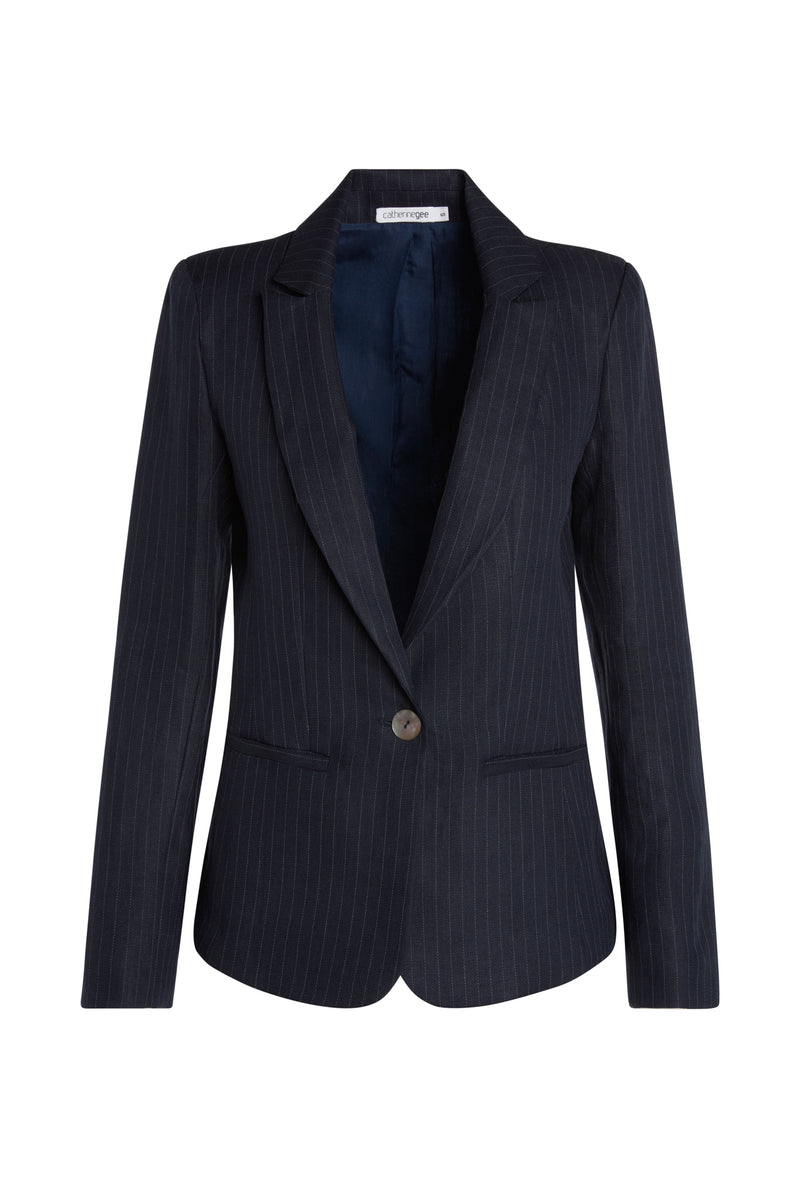 Carla Single Button Blazer