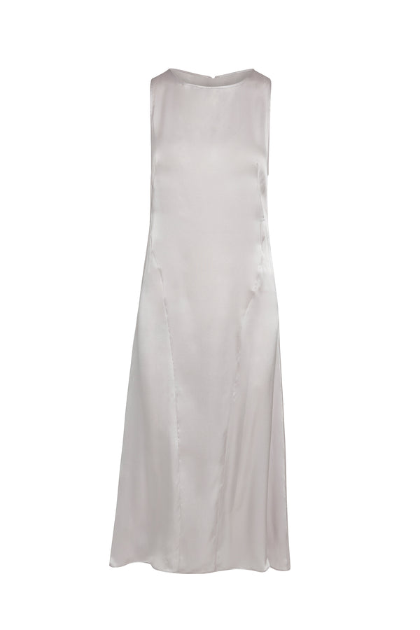 Halle Silk Sheath Slip Dress