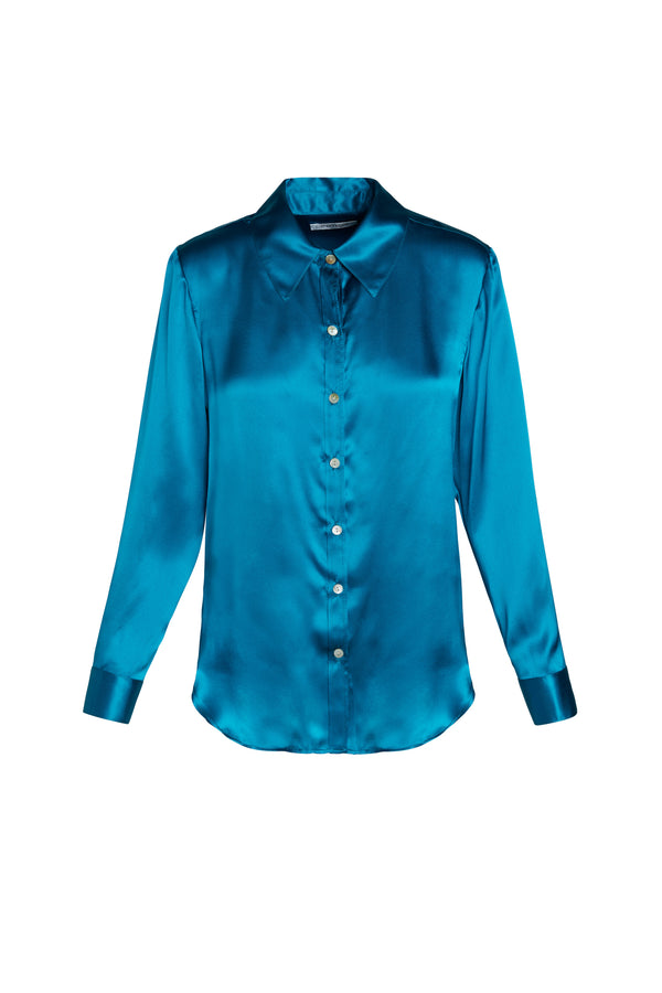 Small Collar Natasha Blouse