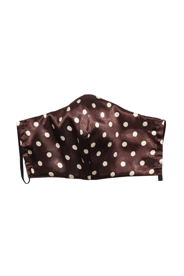 Reusable Silk Face Mask in Polkadot