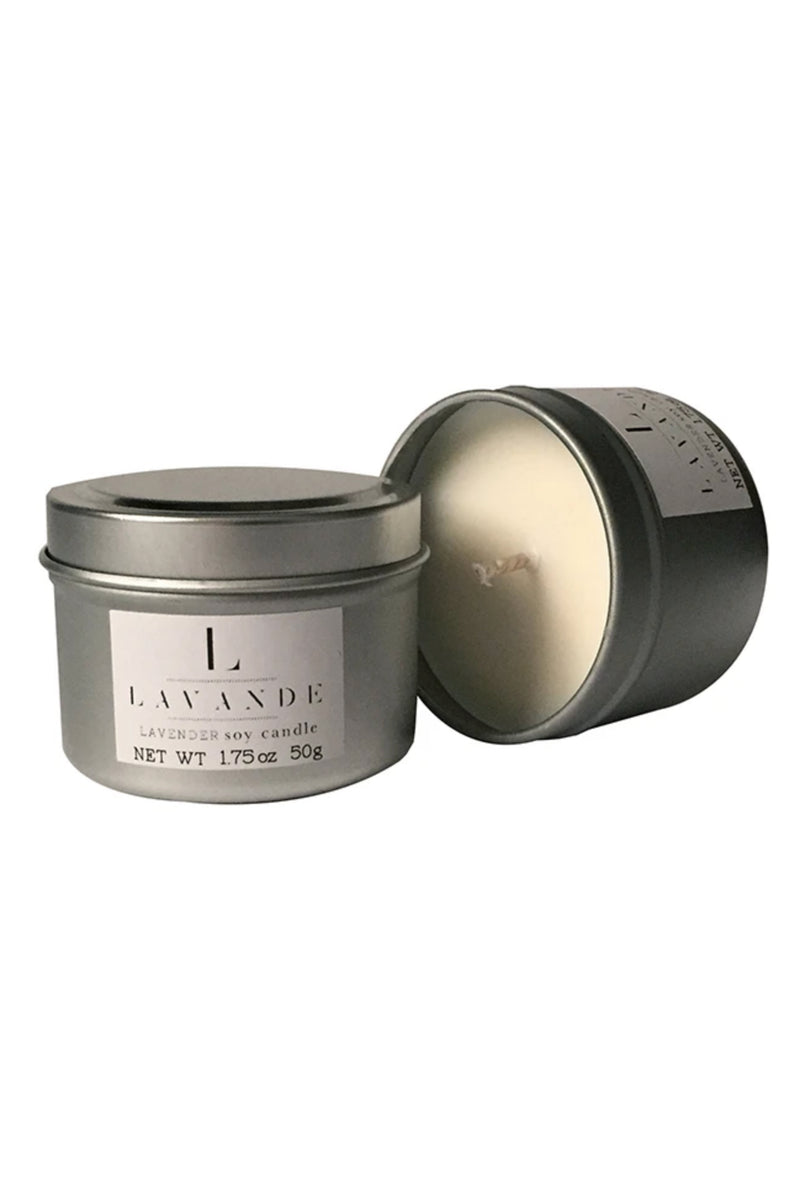 Lavande Lavender Travel Candle 2oz