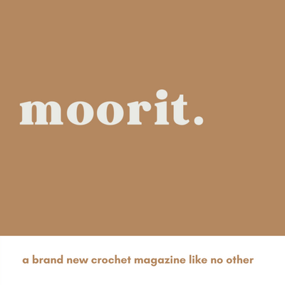 Excitement for Moorit Magazine - a crochet magazine with indie spirit
