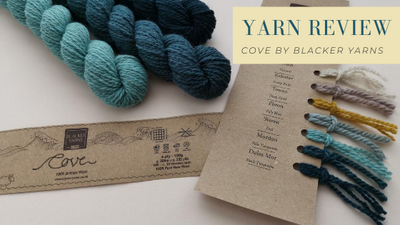 Review of Cove by Blacker Yarn