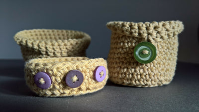 Little Crocheted Container patterns