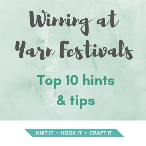Winning at Yarn Festivals