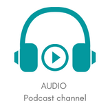 Audio logo and link to Crochet Circle Podcast pages
