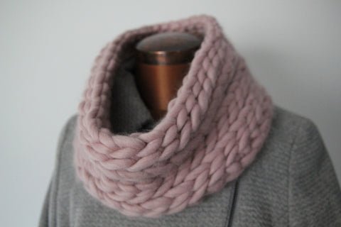 Snugdown Snood Pattern Knit It Hook It Craft It