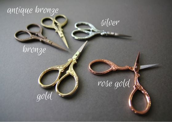 Embroidery scissors - Provenance Craft Co