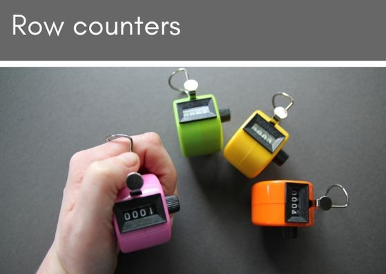 Row counter - perfect for your project bag